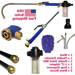High Pressure Power Washer Wand Attach Directly to Garden Ho