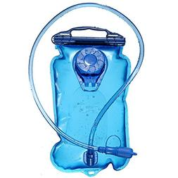 Hydration Bladder Water Reservoir Pack with Tube for 3 Liter