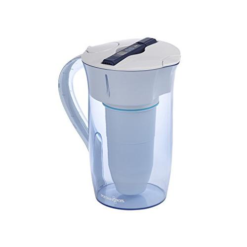 10 cup round pitcher with free water