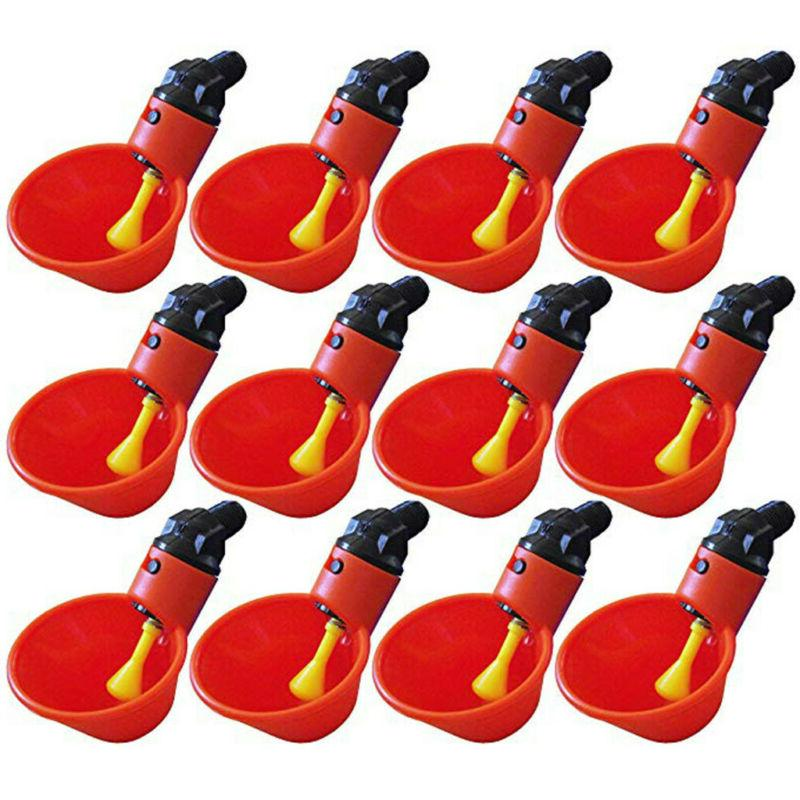12pcs feed automatic bird coop poultry chicken