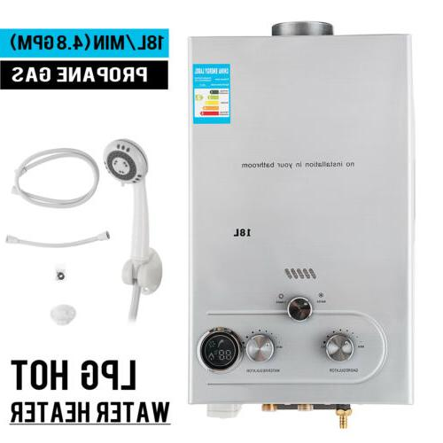 18l 4 8gpm lpg gas propane tankless