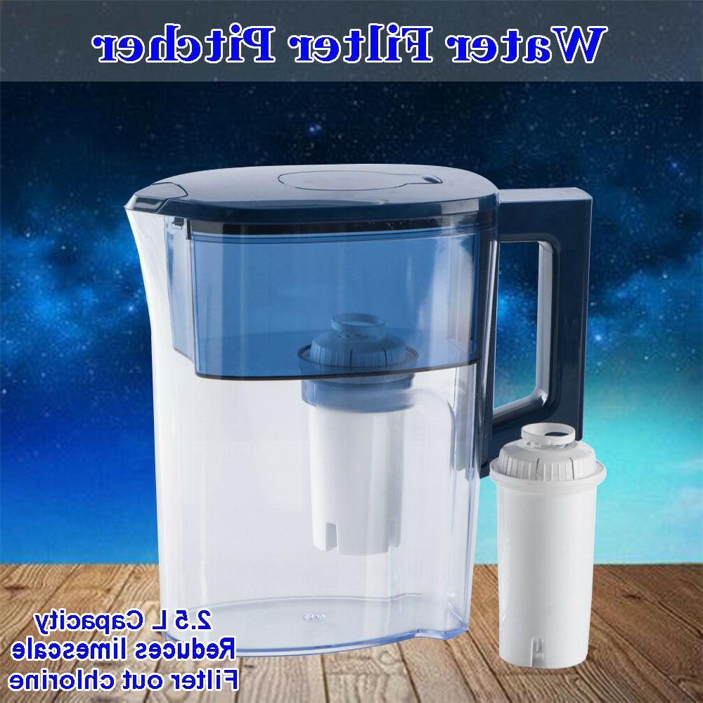 2 5l drinking water jug bottle filter