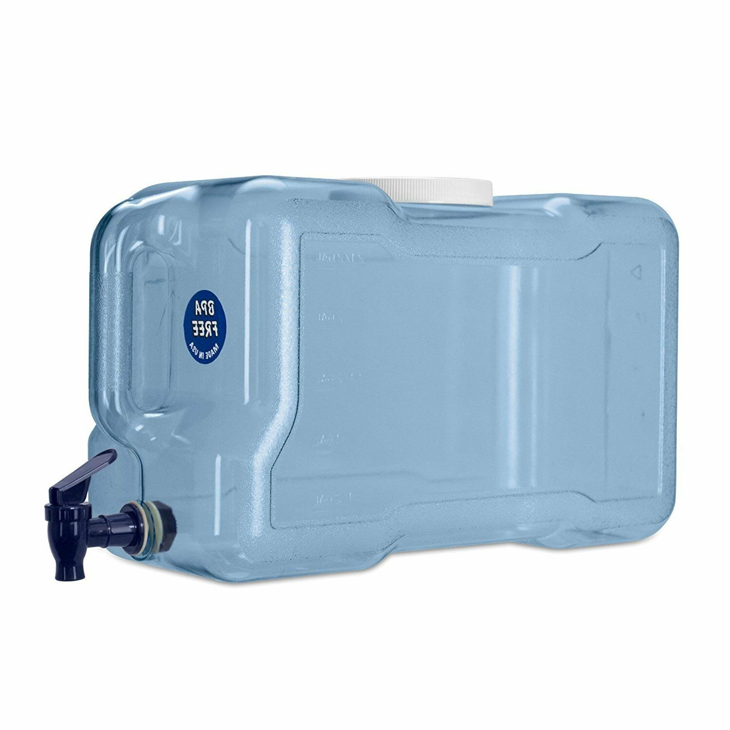 2 gallon refrigerator dispenser drinking water bottle