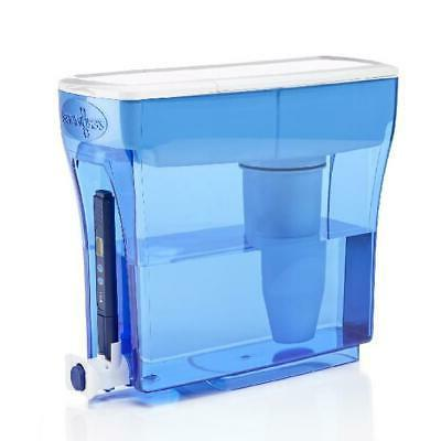 ZeroWater 30-Cup Water Filtration Dispenser with Free Qualit