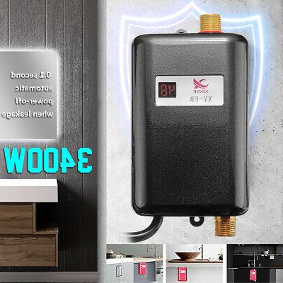 3400w instant electric tankless hot water heater