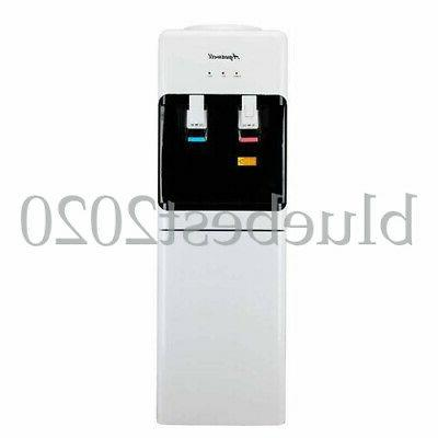 5 gallon top loading hot cold water