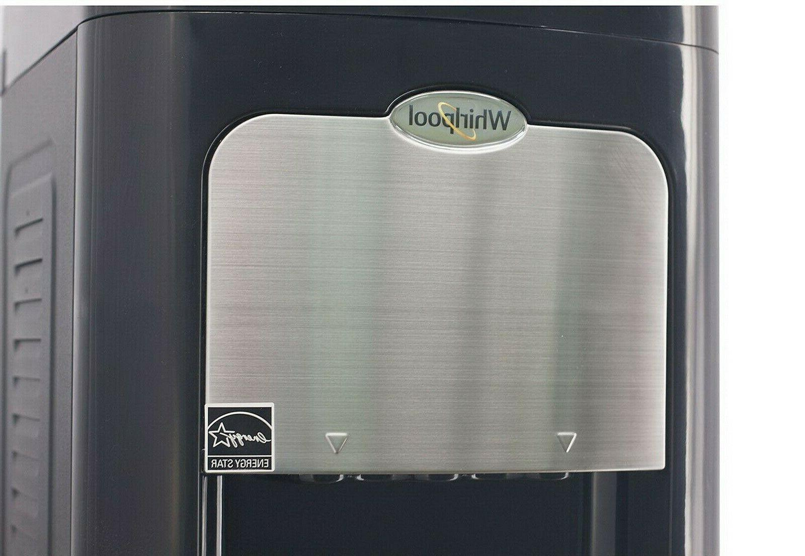 Whirlpool 5 Water Dispenser Cooler Cold Hot Electric Steel Frame