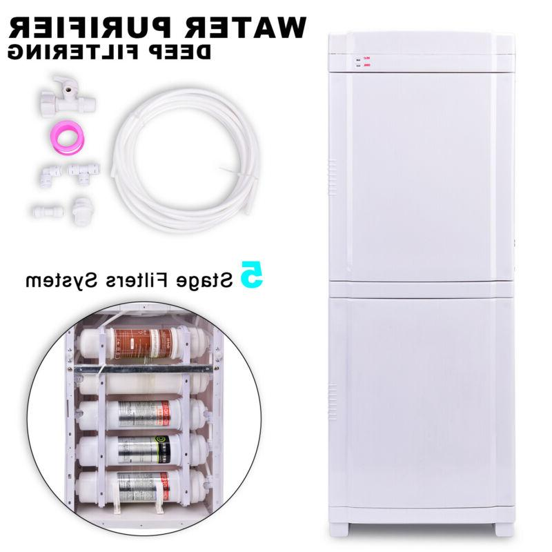 5Stage Filters Self Cleaning Bottleless Hot&Cold Water Coole