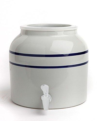 New Wave Porcelain Counter Blue Striped