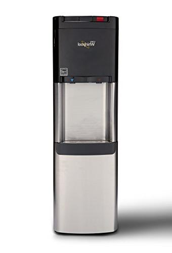 Whirlpool Commercial Cooler, Water, Steaming Hot, Stainless Steel Water Dispenser
