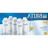 Brita Water Filter Pitcher Advanced Replacement Filters 5 ea