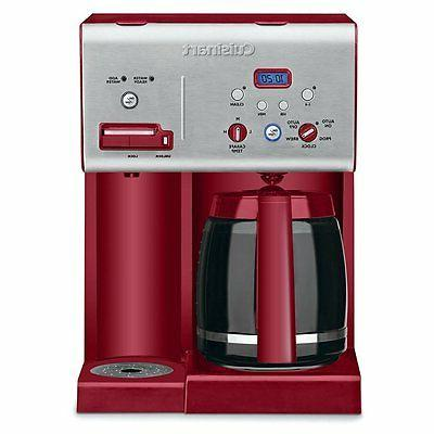 Cuisinart Chw-12r 12-cup Programmable Coffeemaker Plus Hot W