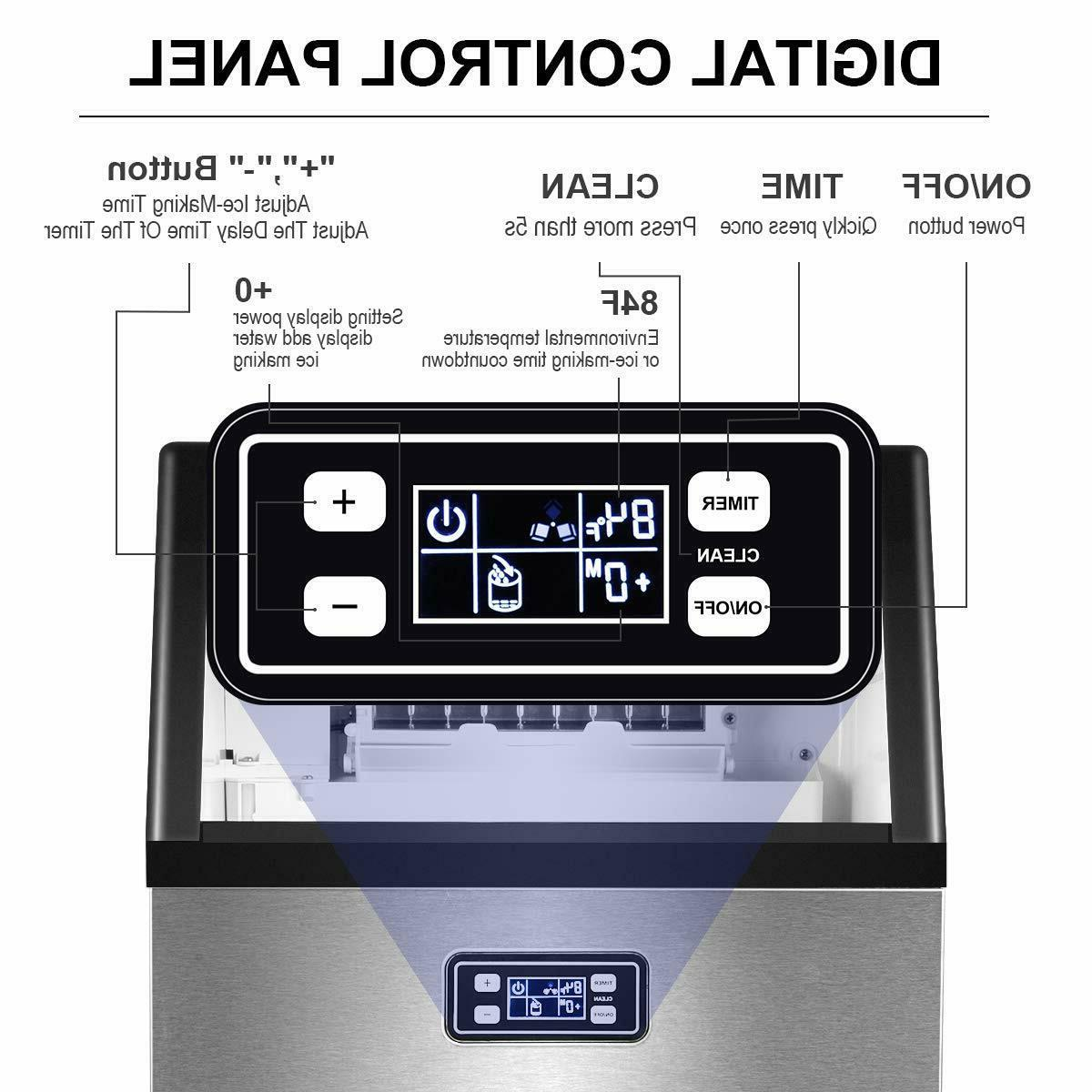Smad Stainless Ice Cube Undercounter
