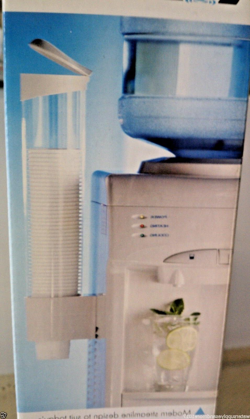 Cup Holder/ Dispenser for  Water Coolers White