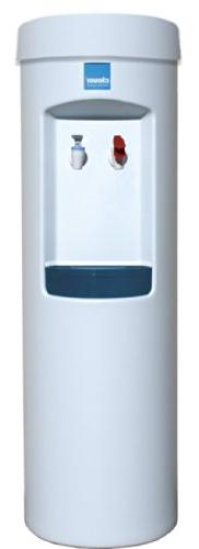 Clover D7A Hot and Cold Bottleless Water Dispenser, White
