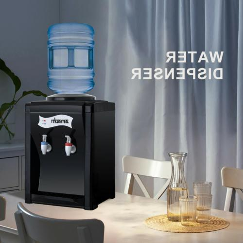 3-5 Gallon Electric Hot&Cold Water Dispenser Cooler Top Lo