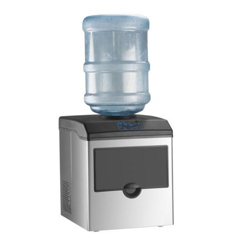Water Ice Machine Portable Stainless Steel