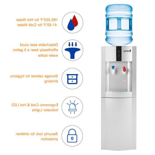 Electric Hot/Cold Water Cooler Dispenser