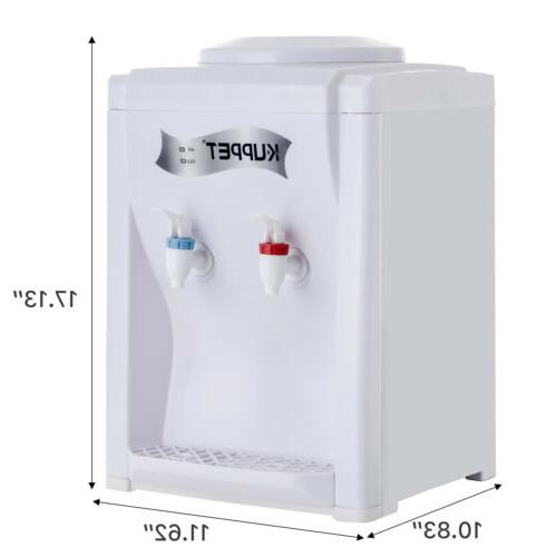 Top Electric Hot Cold Cooler White