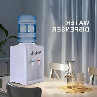 Electric Dispenser Hot and Cold Water 3-5 Gallon Office Use Desktop