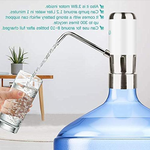 Calogy Electric Drinking Water Pump Dispenser for Gallon Bottle