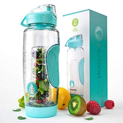 fruit water bottle infuser