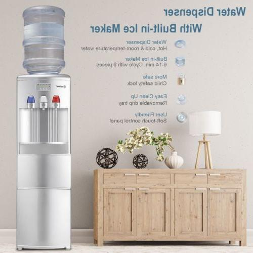 Home Top Loading Hot/Cold Water Dispenser with Built-In Room