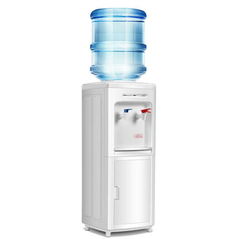 hot and cold top loading water dispenser