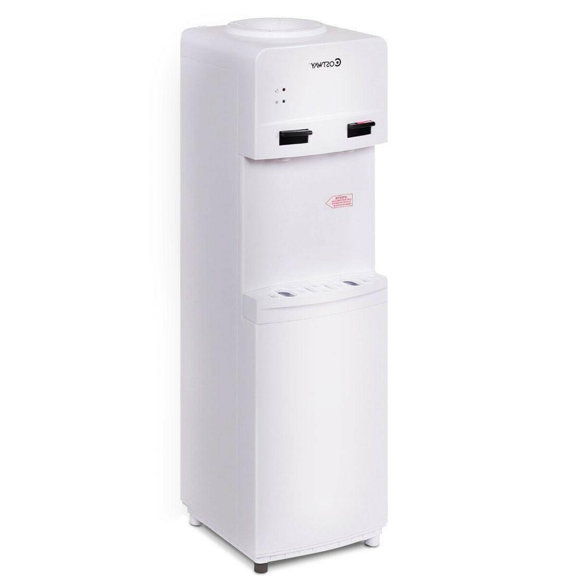 Hot Cold Top Loading Water Dispenser Free standing 5 Gallons