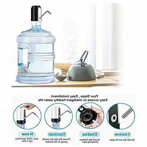 LECIEL Pump Automatic Drinking Water Bottle Pump for