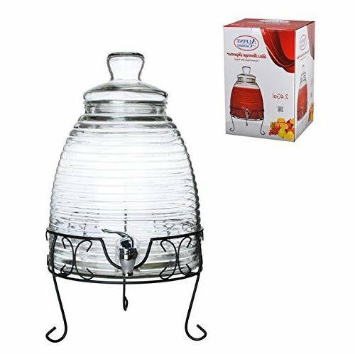 mexican glass beverage water dispenser