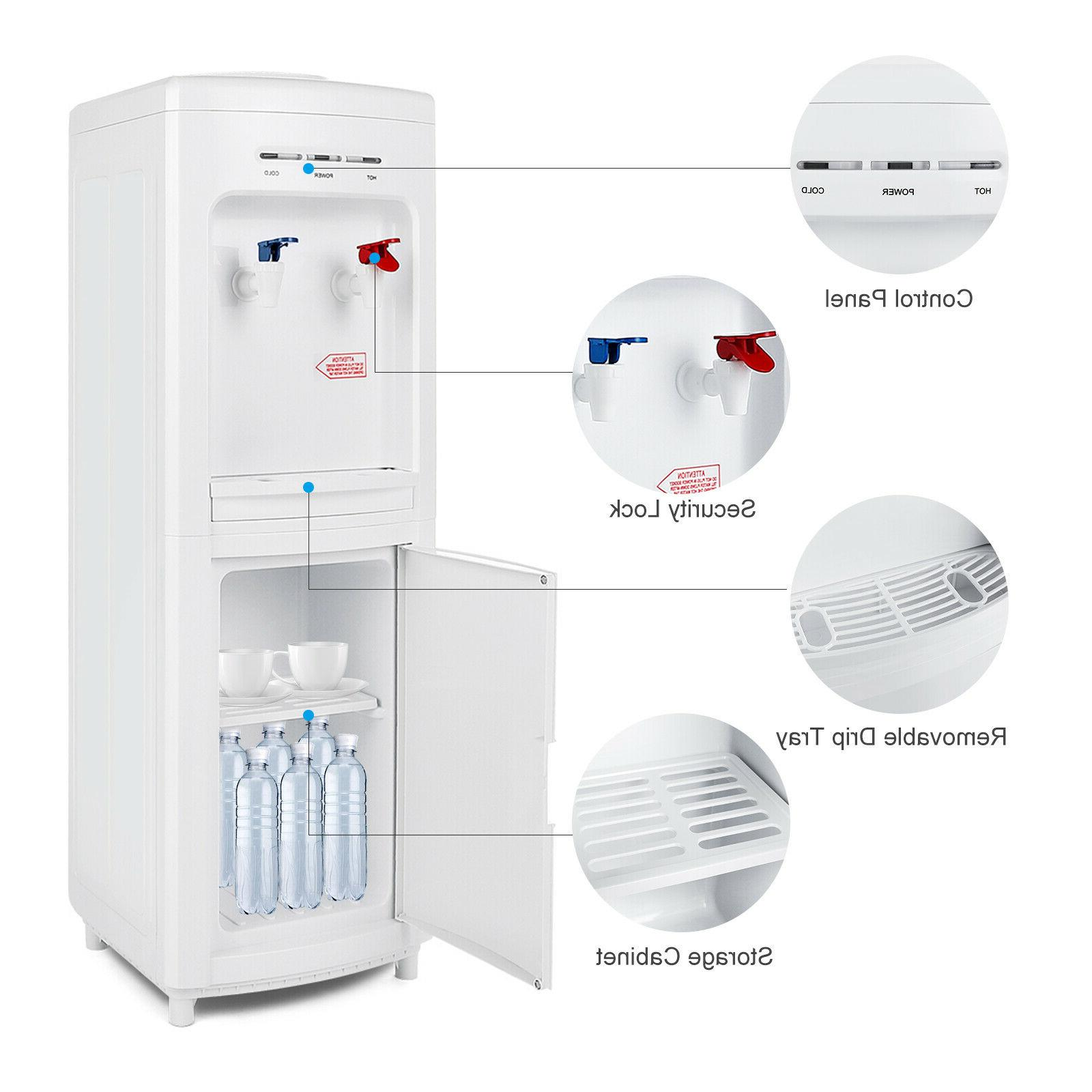 minimalism water cooler hot cold water dispenser