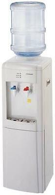 NEW HOMEBASIX 7684574 2 TAP FULL SIZE HOT & COLD WATER COOLE