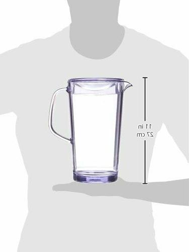 Pitcher Lid Beverage Juice Dispenser Kitchenware Clear