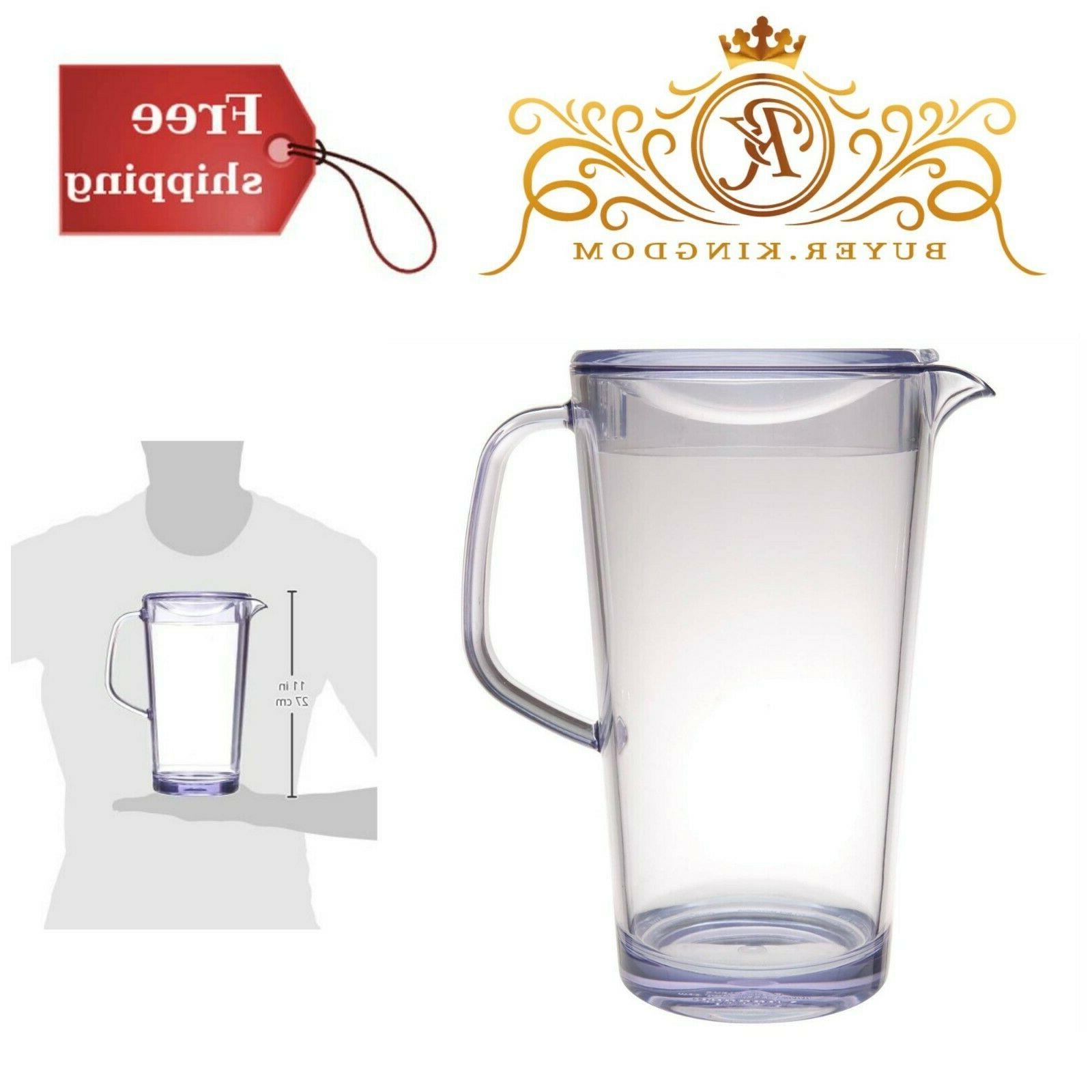 pitcher with lid water beverage ice tea
