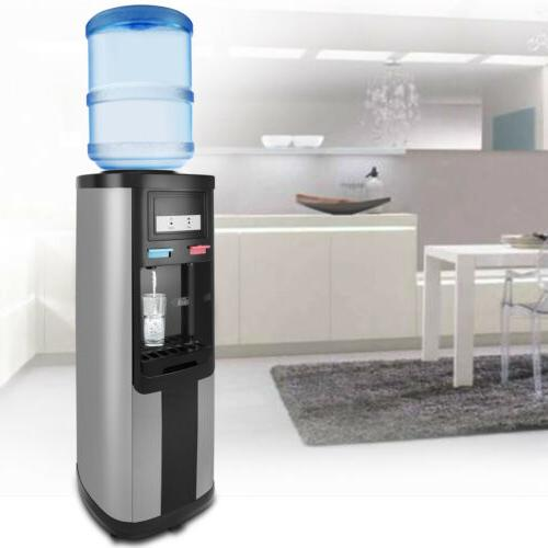 Hot/Cold Water Cooler 5 Top Loading Electric Safety Lock