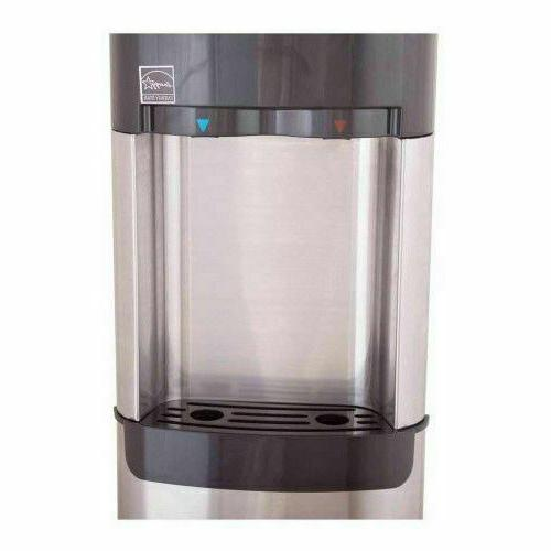 Whirlpool Stainless Steel Top Load Water Temperature Office New