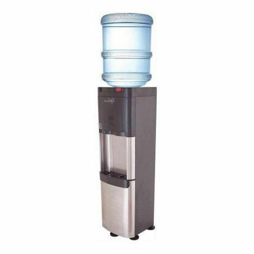 stainless steel top load water dispenser cooler