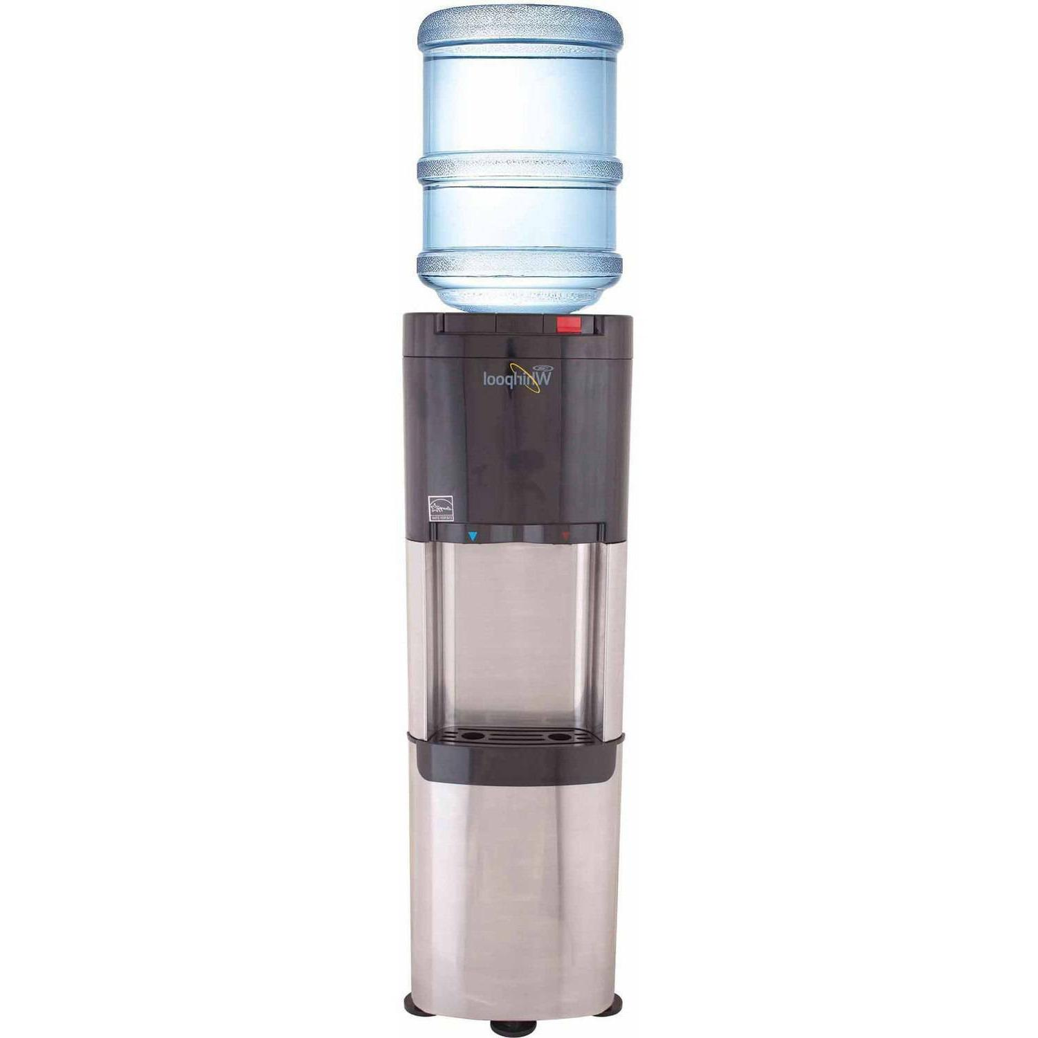 stainless steel top load water dispenser water