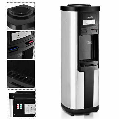 electric water dispenser hot cold water cooler