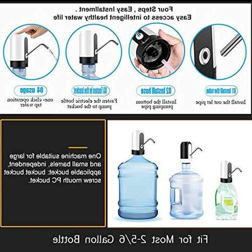 Universal Charging Automatic Electric Bottle Pump