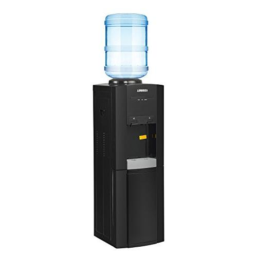 water cooler dispenser loading freestanding