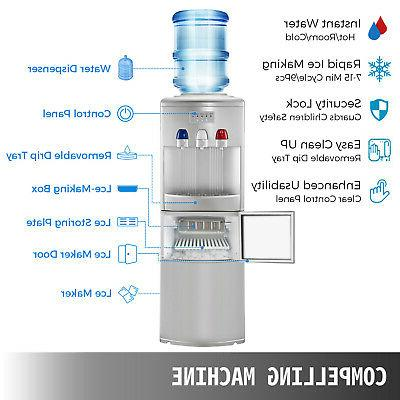 Water Ice Maker Hot In Silver