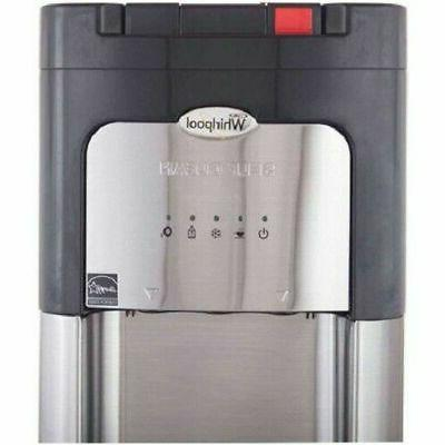Whirlpool Water Cooler Cold Bottom Stainless