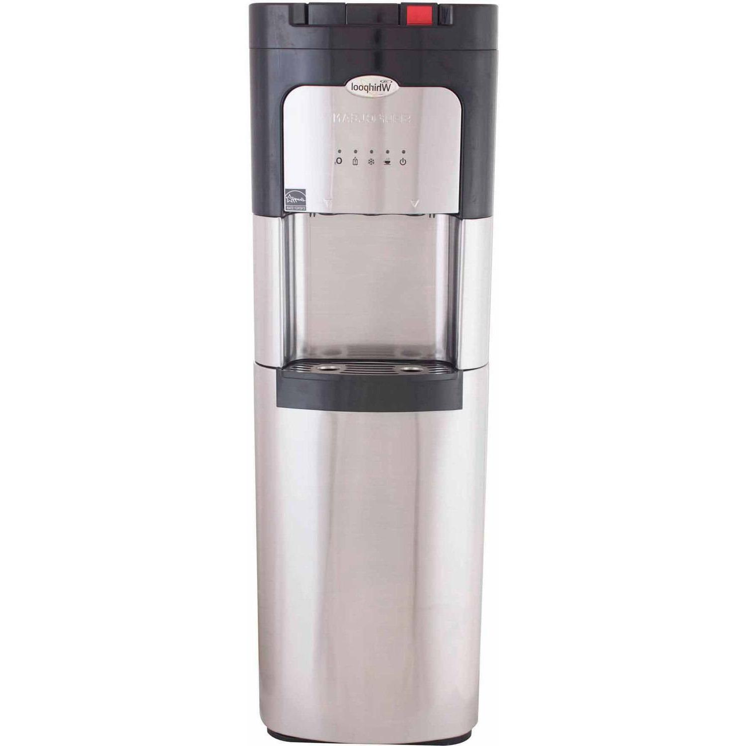 Water Cooler Hot Cold Whirlpool Stainless Steel Dispenser Bo