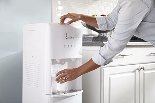 Primo White 2 Spout Bottom Load and Cold Water Cooler