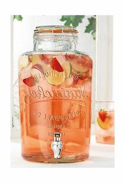 Home Essentials 2.15 Gallon Nantucket Drink Dispenser Multi-