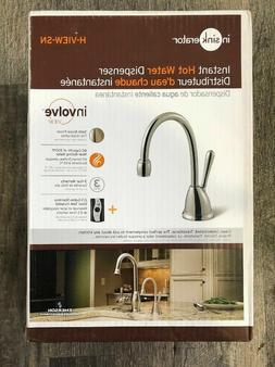 New INSINKERATOR H-VIEW-SN Involve Satin Nickel Instant Hot