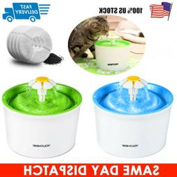 Pet Water Fountain For Cat Automatic Water Drinking Bowl Dis