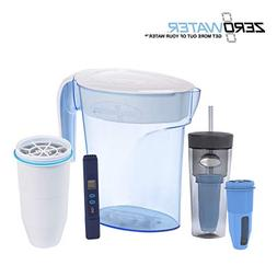 ZeroWater 6 Cup Pitcher  Set with Tumbler
